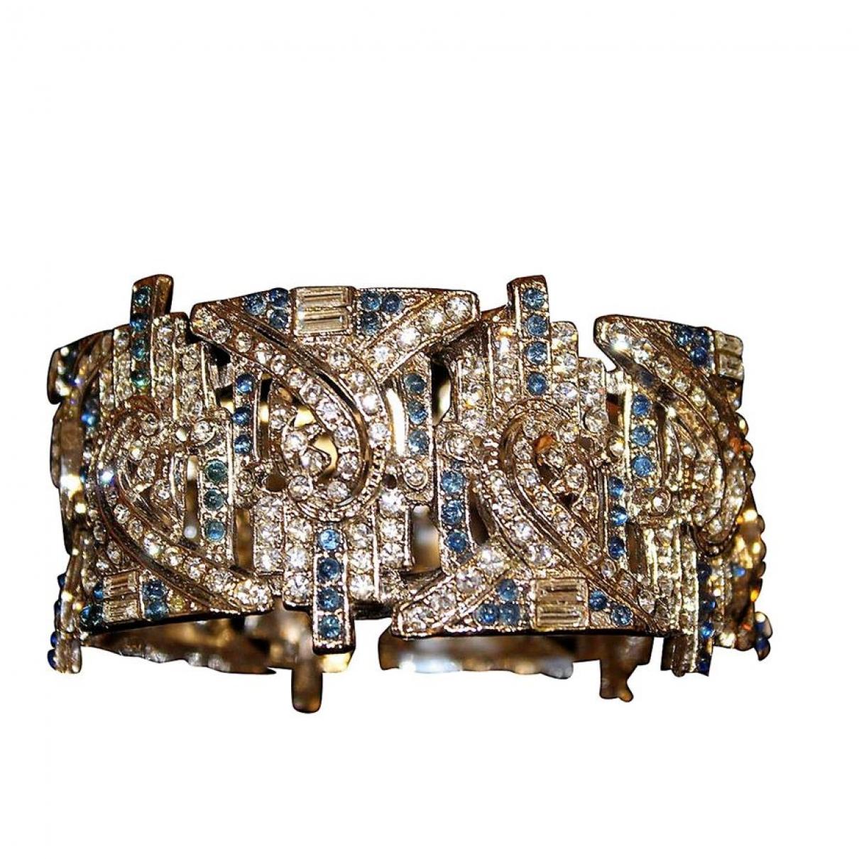 Carlo Zini \N Armband in  Blau Metall