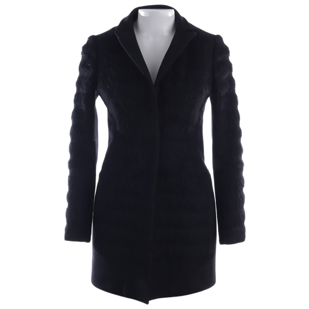 All Saints \N Black Wool jacket for Women 36 FR