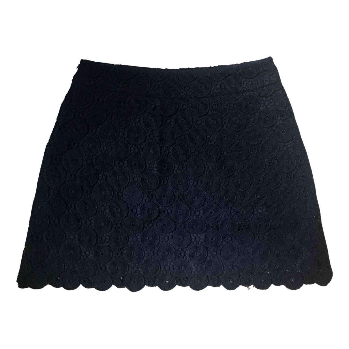Miu Miu - Jupe   pour femme en coton - noir