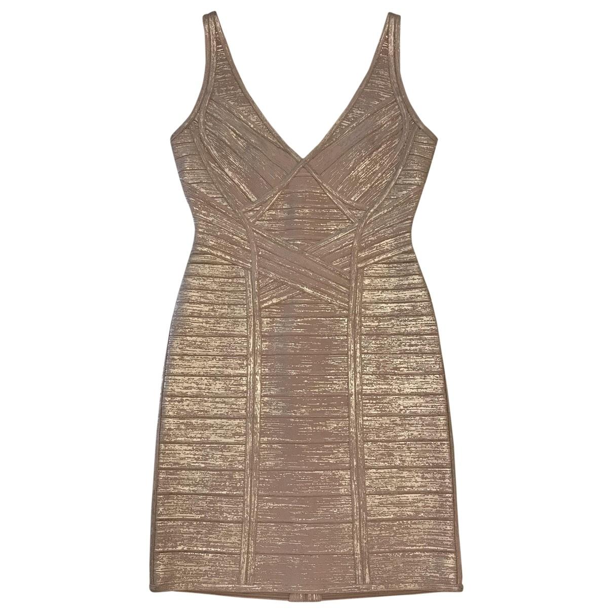 Herve Leger \N Pink dress for Women S International