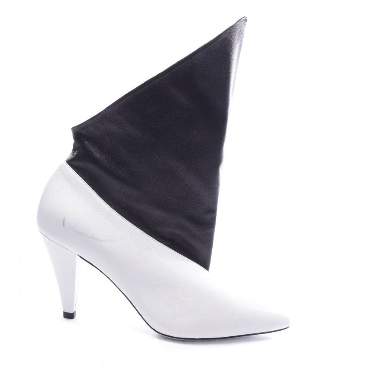 Givenchy \N Stiefeletten in  Weiss Leder