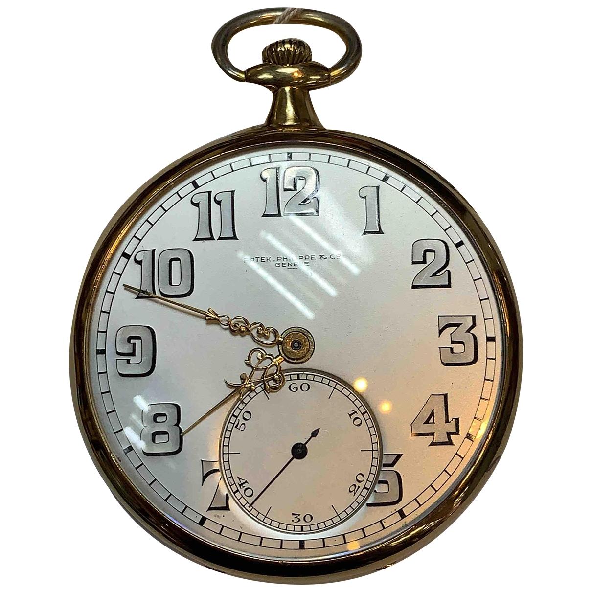 Patek Philippe \N Uhr in  Silber Gelbgold