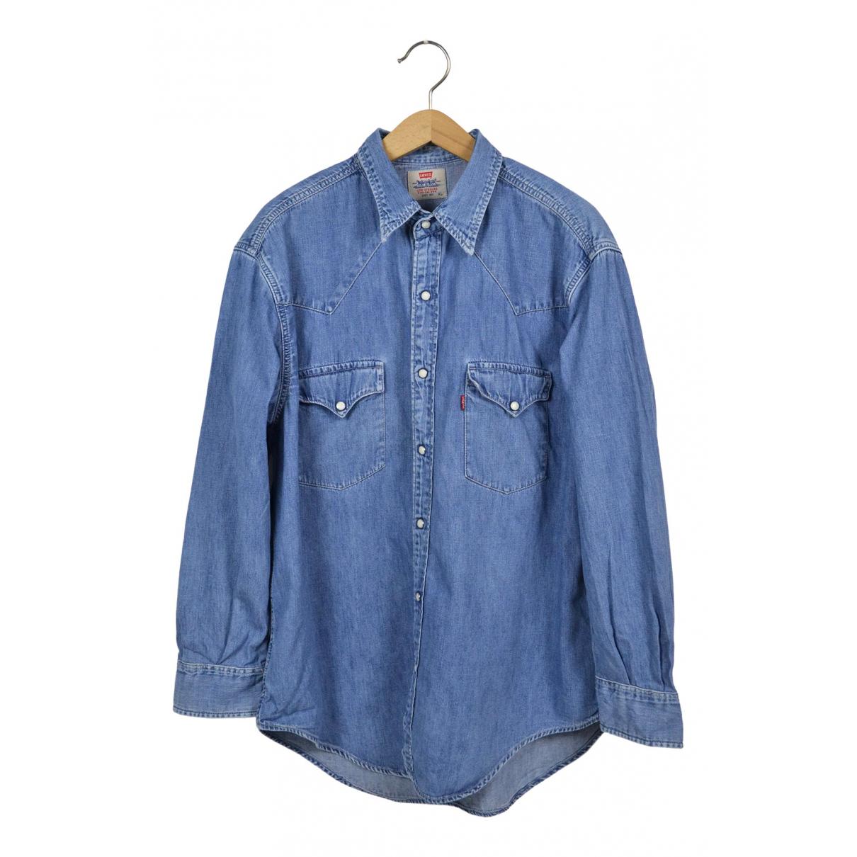 Levis \N Hemden in  Blau Denim - Jeans