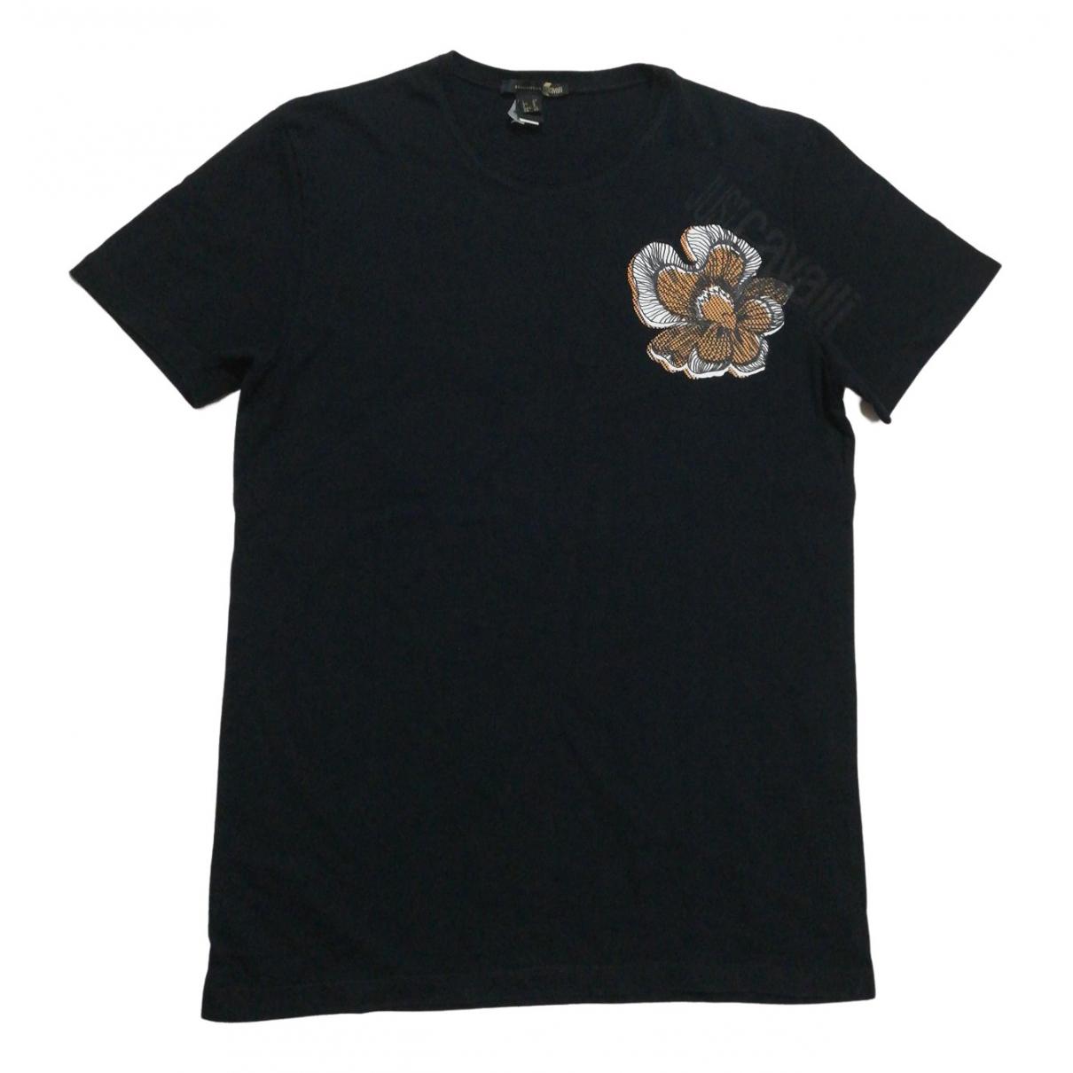 Just Cavalli - Tee shirts   pour homme en coton - noir