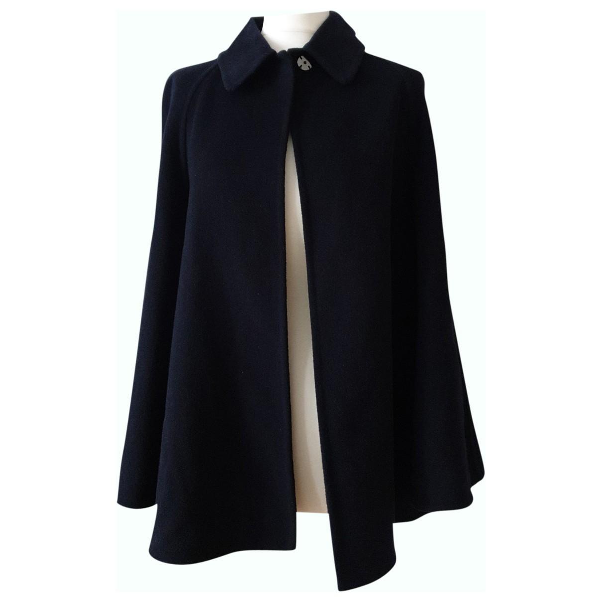 Stella Mccartney N Black Wool coat for Women One Size IT