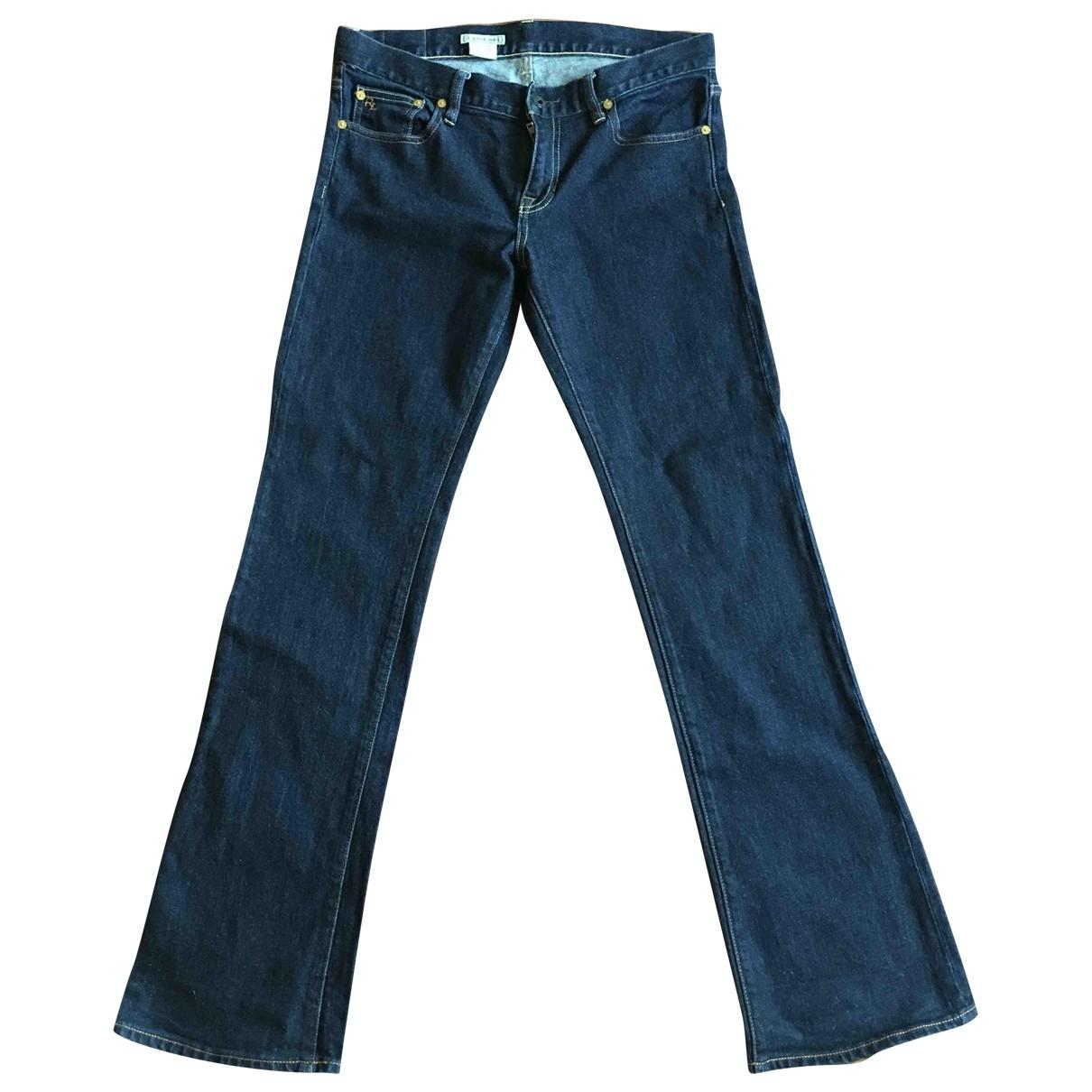 Ralph Lauren \N Blue Cotton - elasthane Jeans for Women 30 US