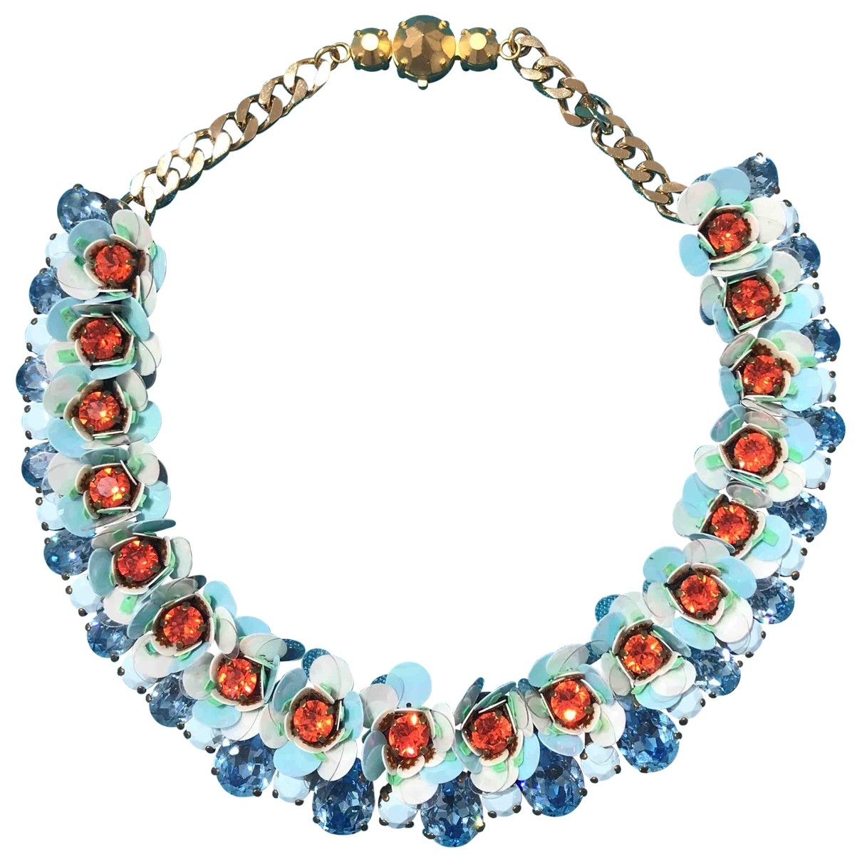 Shourouk \N Blue Metal necklace for Women \N