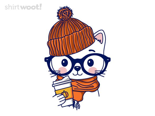Trendy Cat T Shirt
