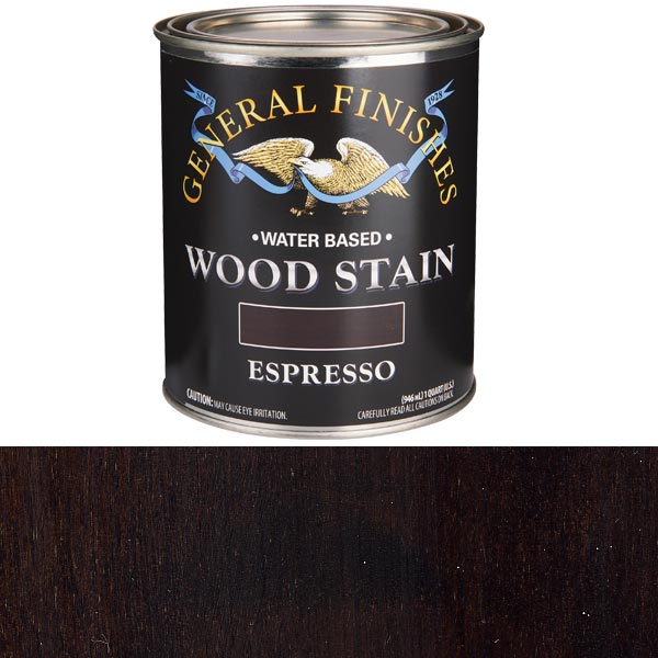 Expresso Stain Water Based Quart