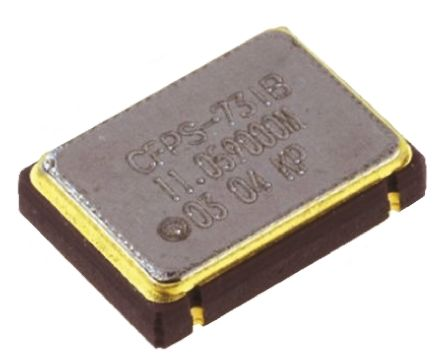IQD , 106.25MHz XO Oscillator, ±50ppm HCMOS, 4-Pin SMD LFSPXO009439