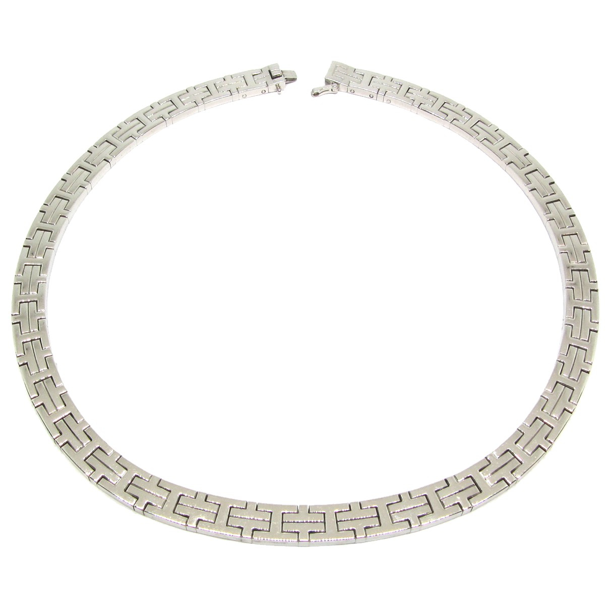Hermès \N White gold necklace for Women \N