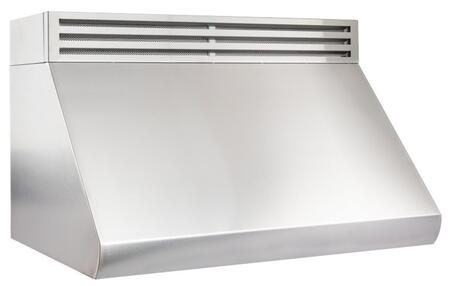 RK527-48 48 Recirculating Under Cabinet Range Hood with 1000 CFM  Push Button Controls  LED Lights and Stainless Steel Baffle Filters in Stainless