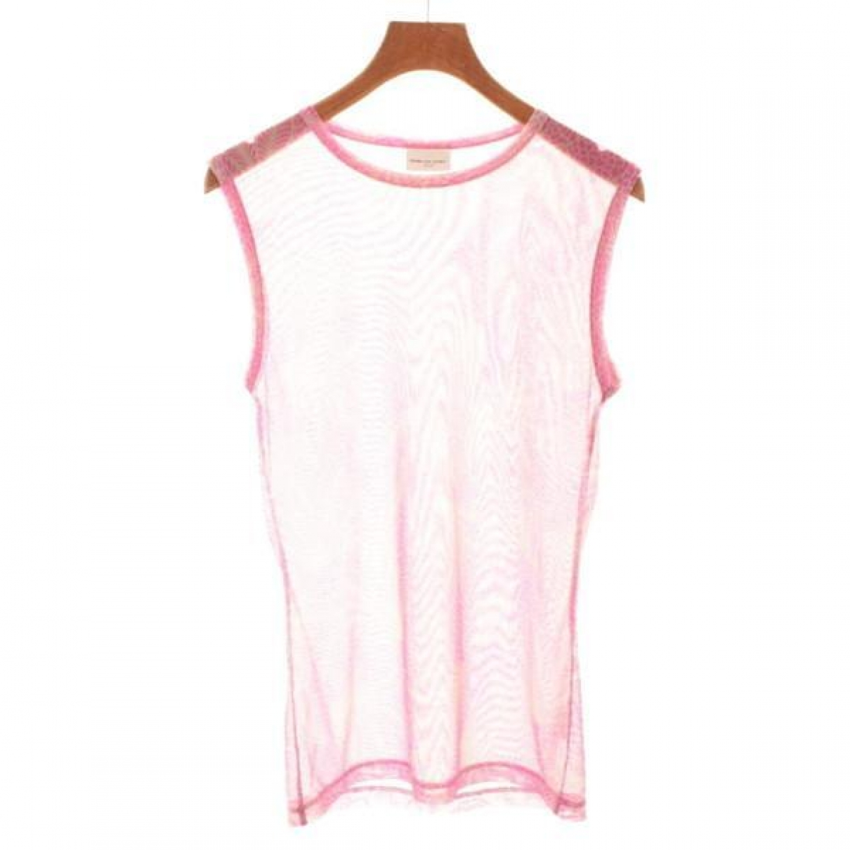 Dries Van Noten \N Top in  Rosa Polyester