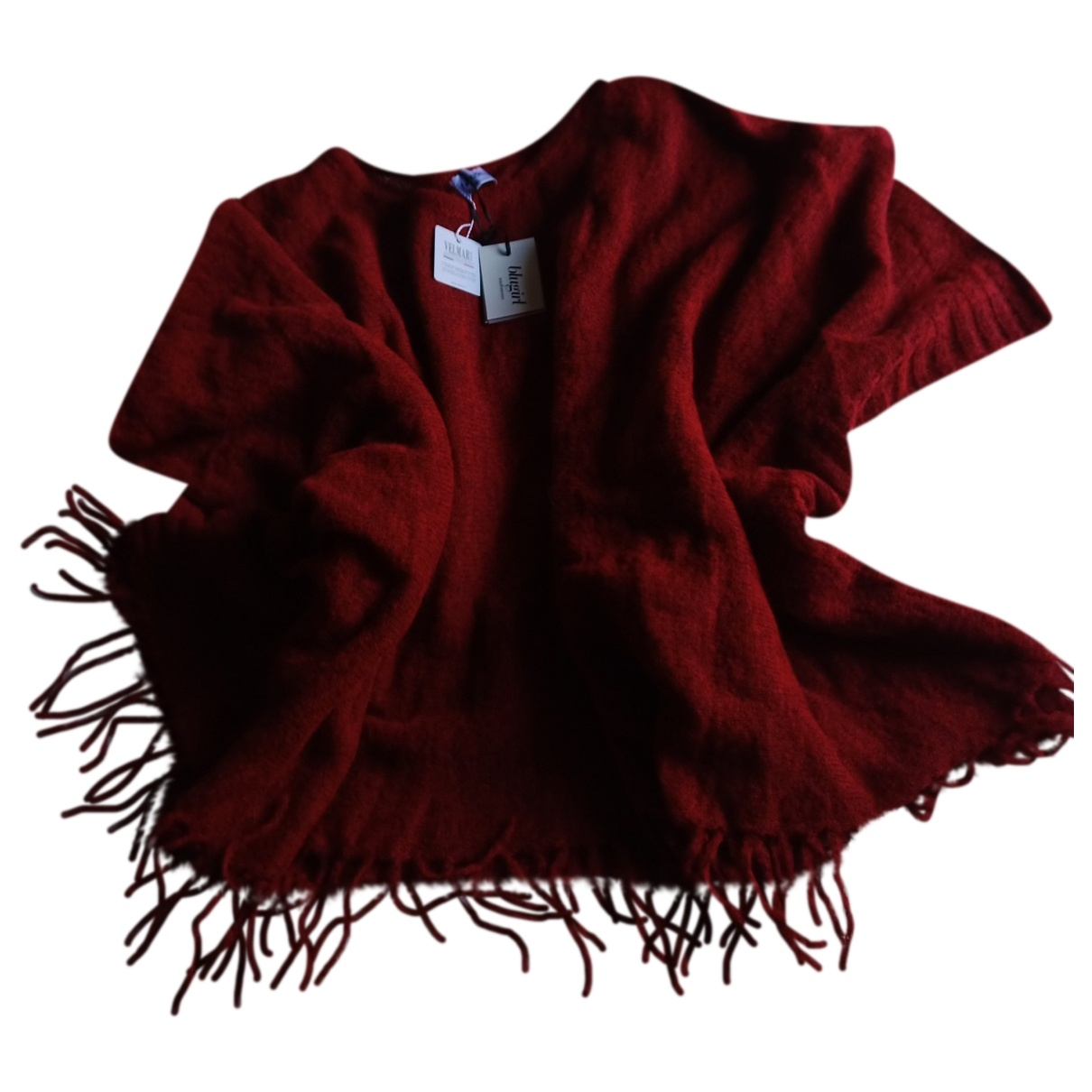 Blumarine \N Pullover in  Rot Wolle