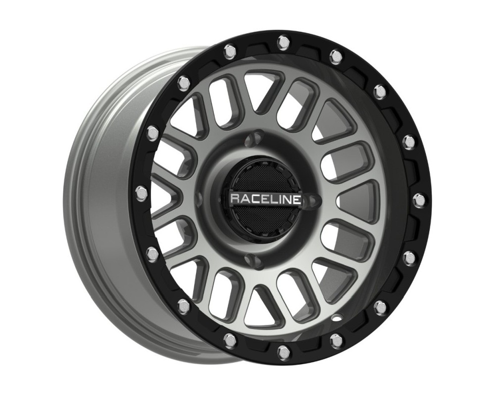 Raceline A93SG Podium Stealth Grey Wheel 14x7 4x156 38mm 6+1
