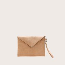 Metal Decor Clutch Bag