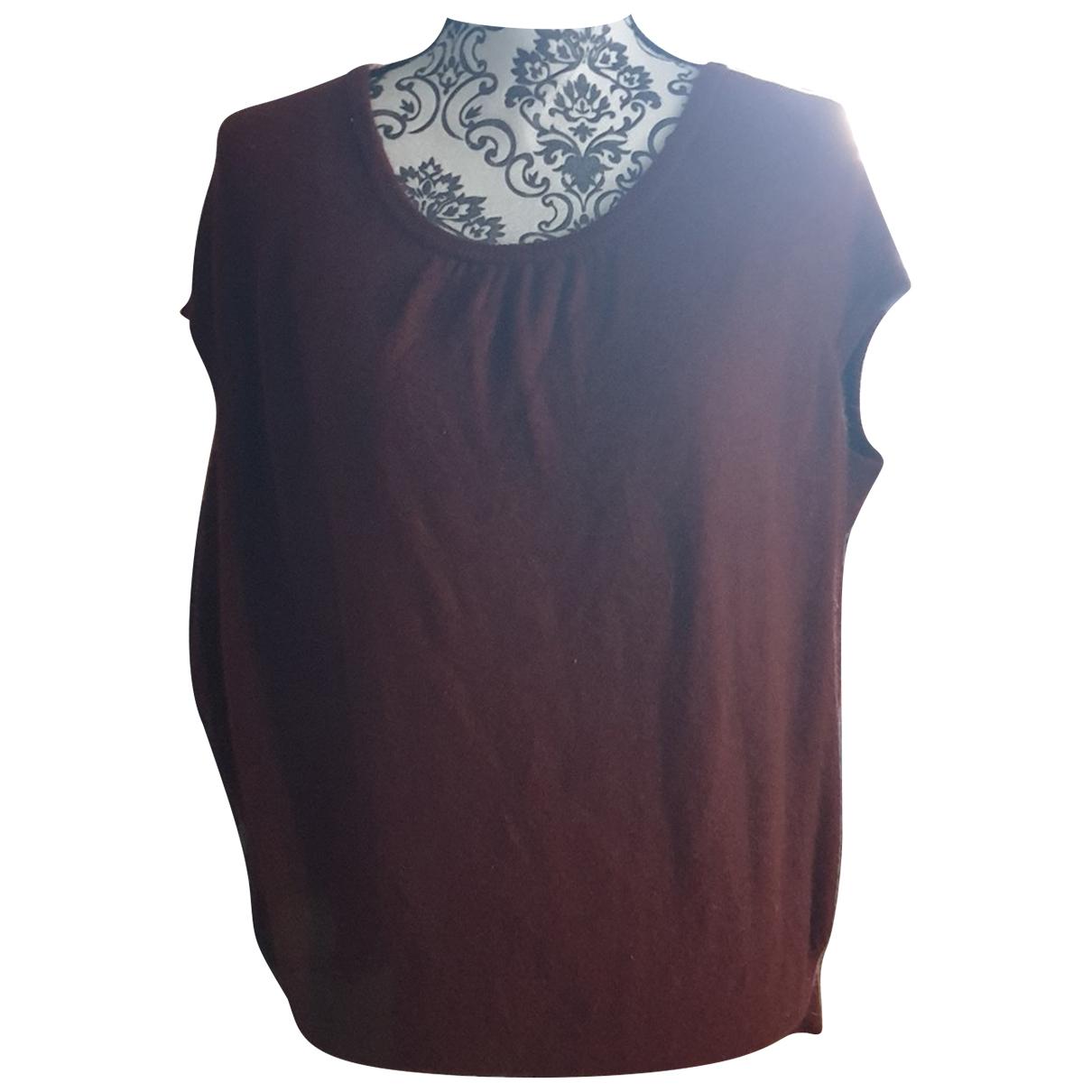 Comptoir Des Cotonniers \N Burgundy Cashmere Knitwear for Women 40 FR