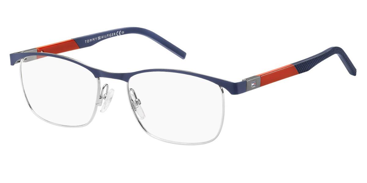 Tommy Hilfiger TH 1626/F 0JI Men's Glasses Blue Size 55 - Free Lenses - HSA/FSA Insurance - Blue Light Block Available