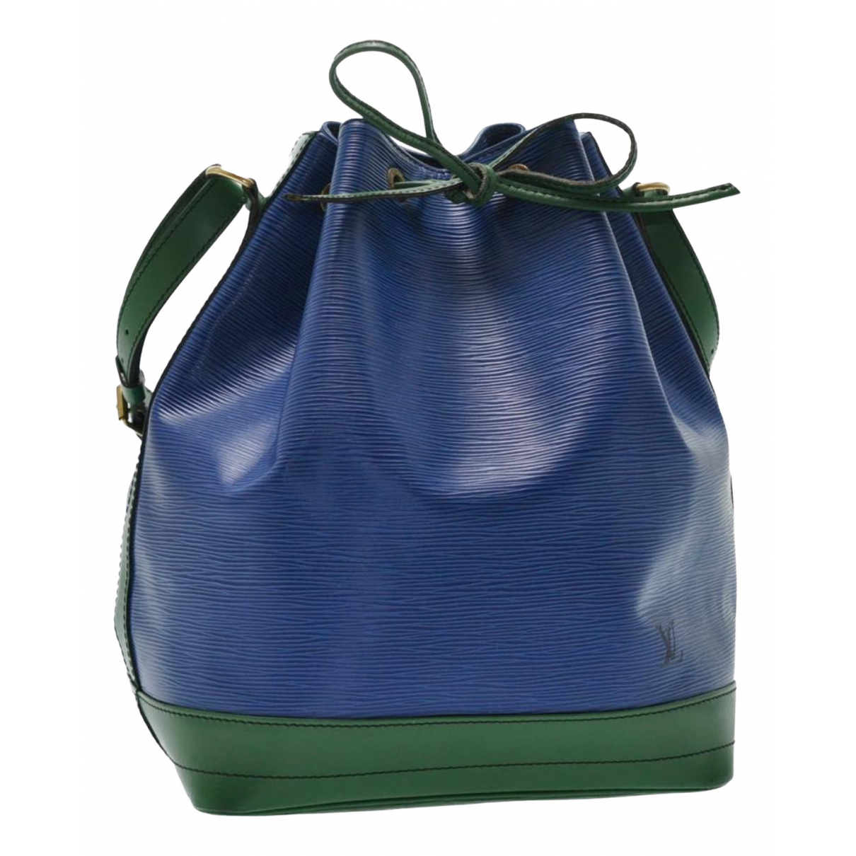 Louis Vuitton - Sac a main Noe pour femme en cuir - bleu
