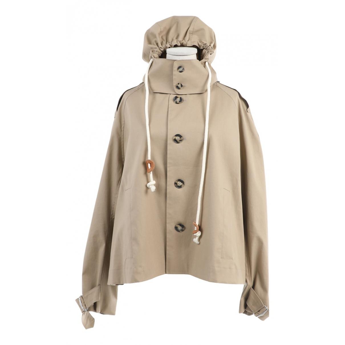 Carven \N Beige Cotton jacket  for Men 50 FR