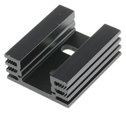 Fischer Elektronik Heatsink, 10K/W, 37.5 x 32 x 14mm, Screw, Black