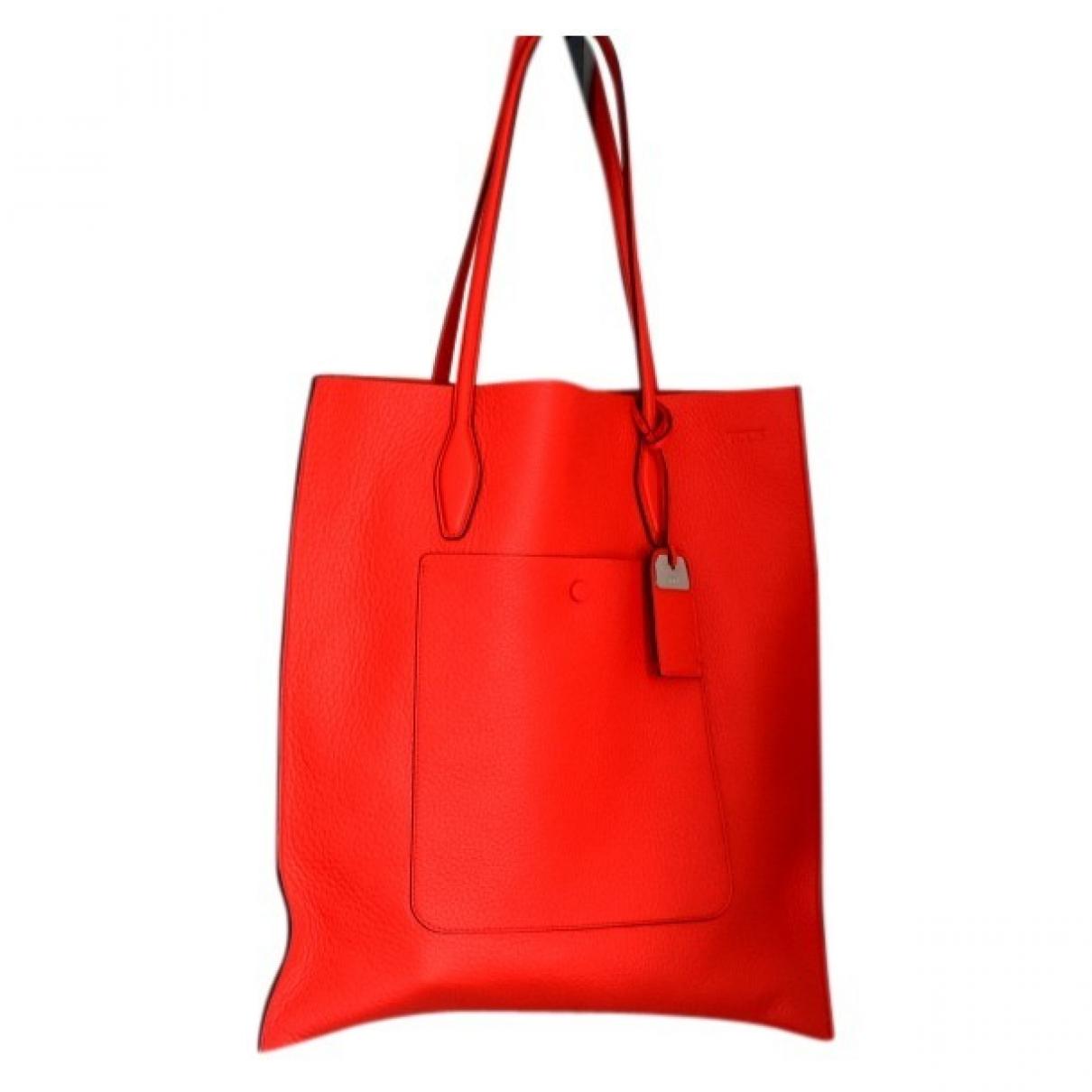 Tod's \N Orange Leather handbag for Women \N