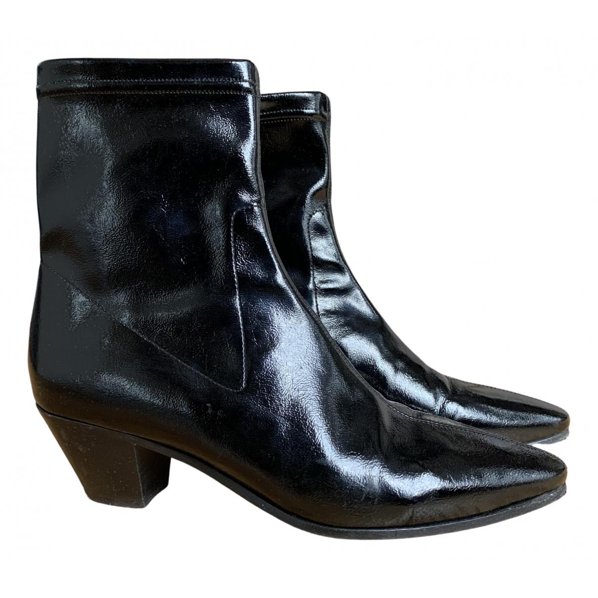 Maje - Boots Fall Winter 2019 pour femme - noir