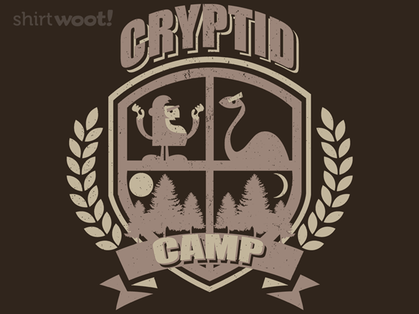 Cryptid Camp T Shirt
