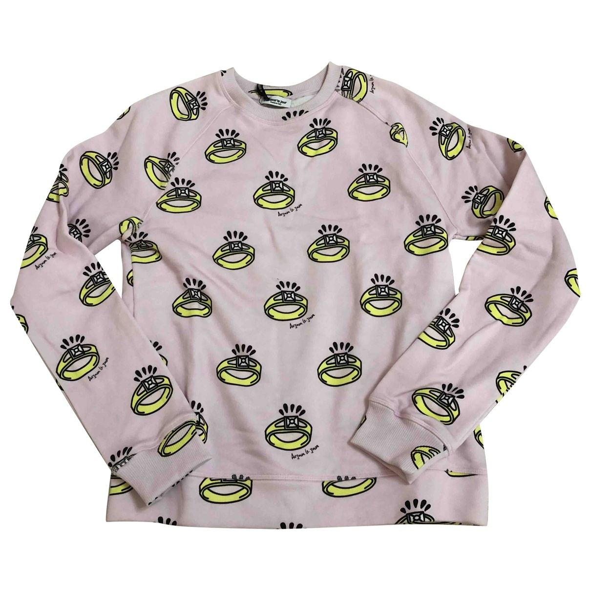 Au Jour Le Jour \N Pink Cotton Knitwear for Women 40 IT