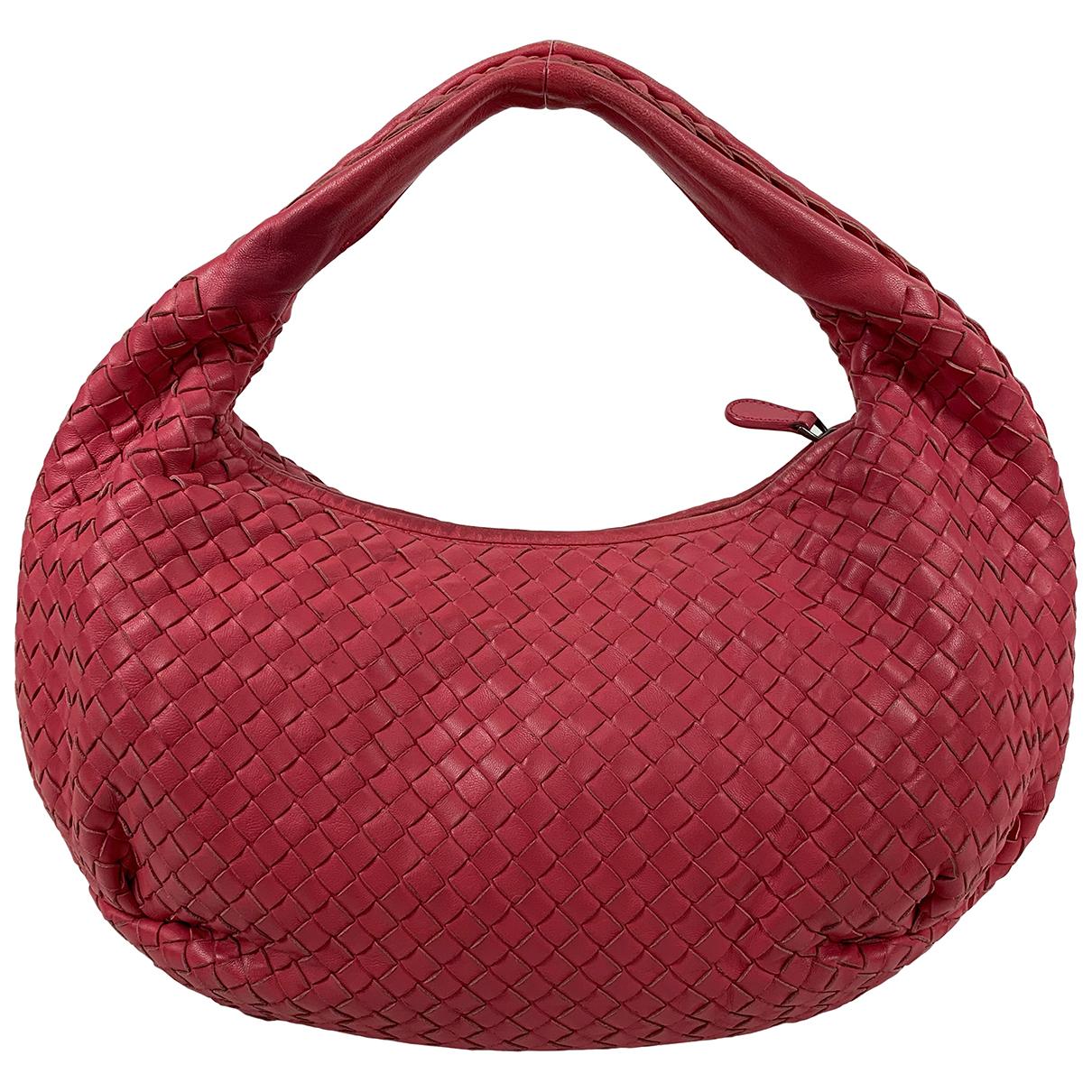 Bottega Veneta Veneta Pink Leather handbag for Women \N