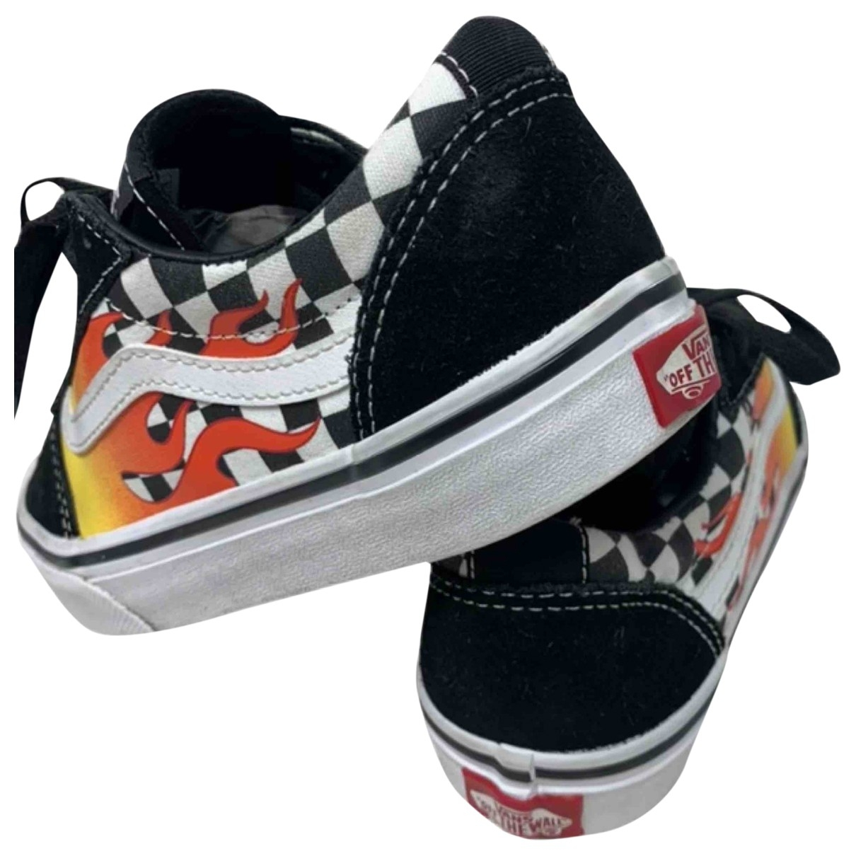 Vans \N Black Cloth Trainers for Kids 33 EU