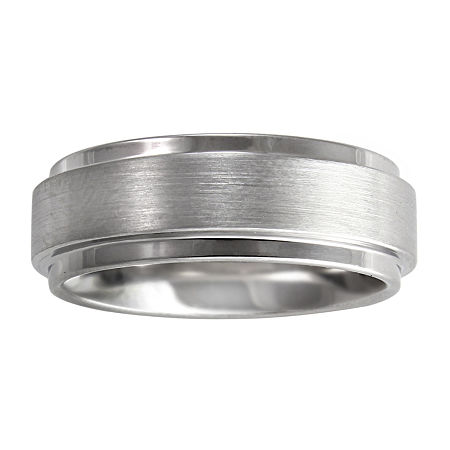 Men's 8mm Band Tungsten, 11 , No Color Family