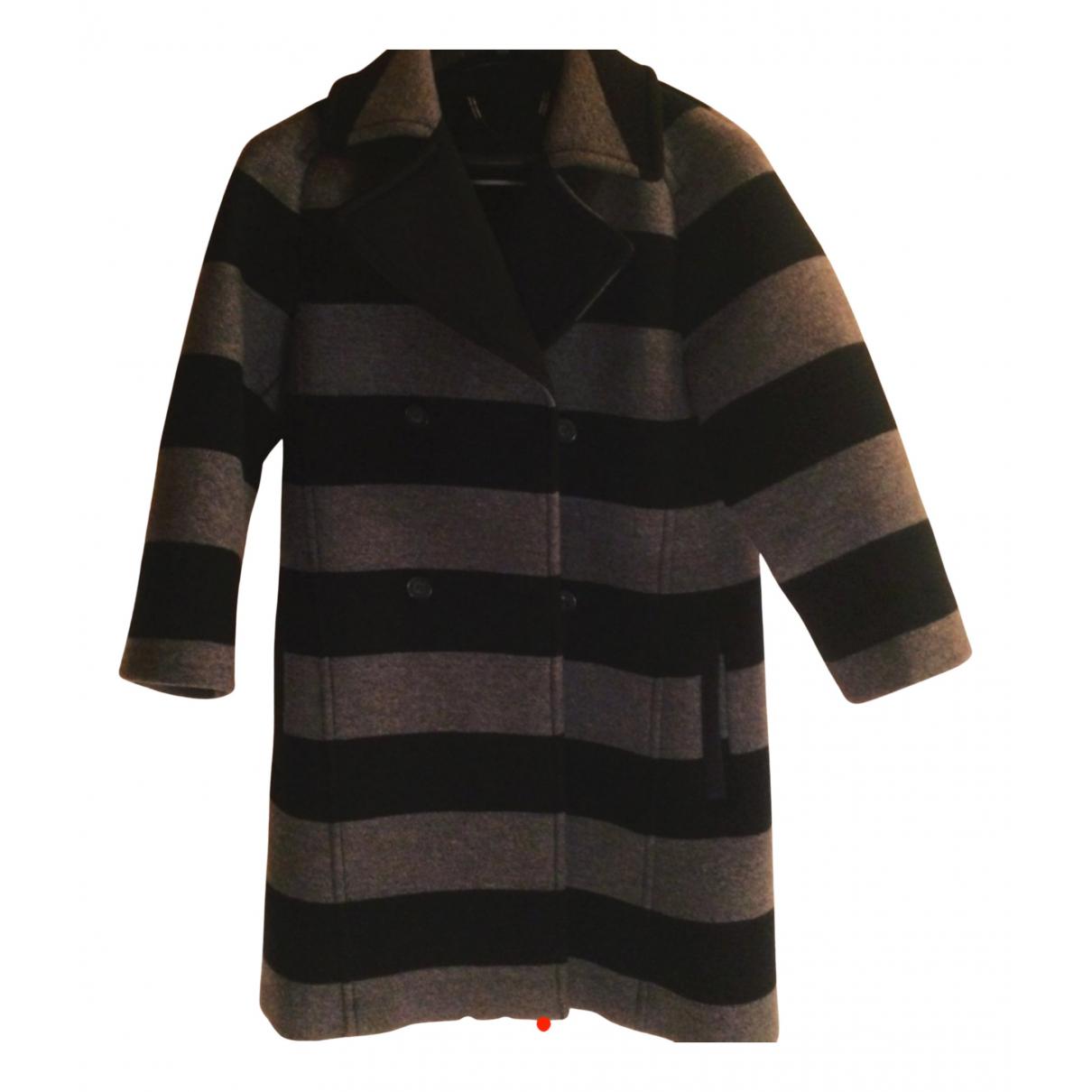 Max & Co N Multicolour Wool coat for Women 36 FR