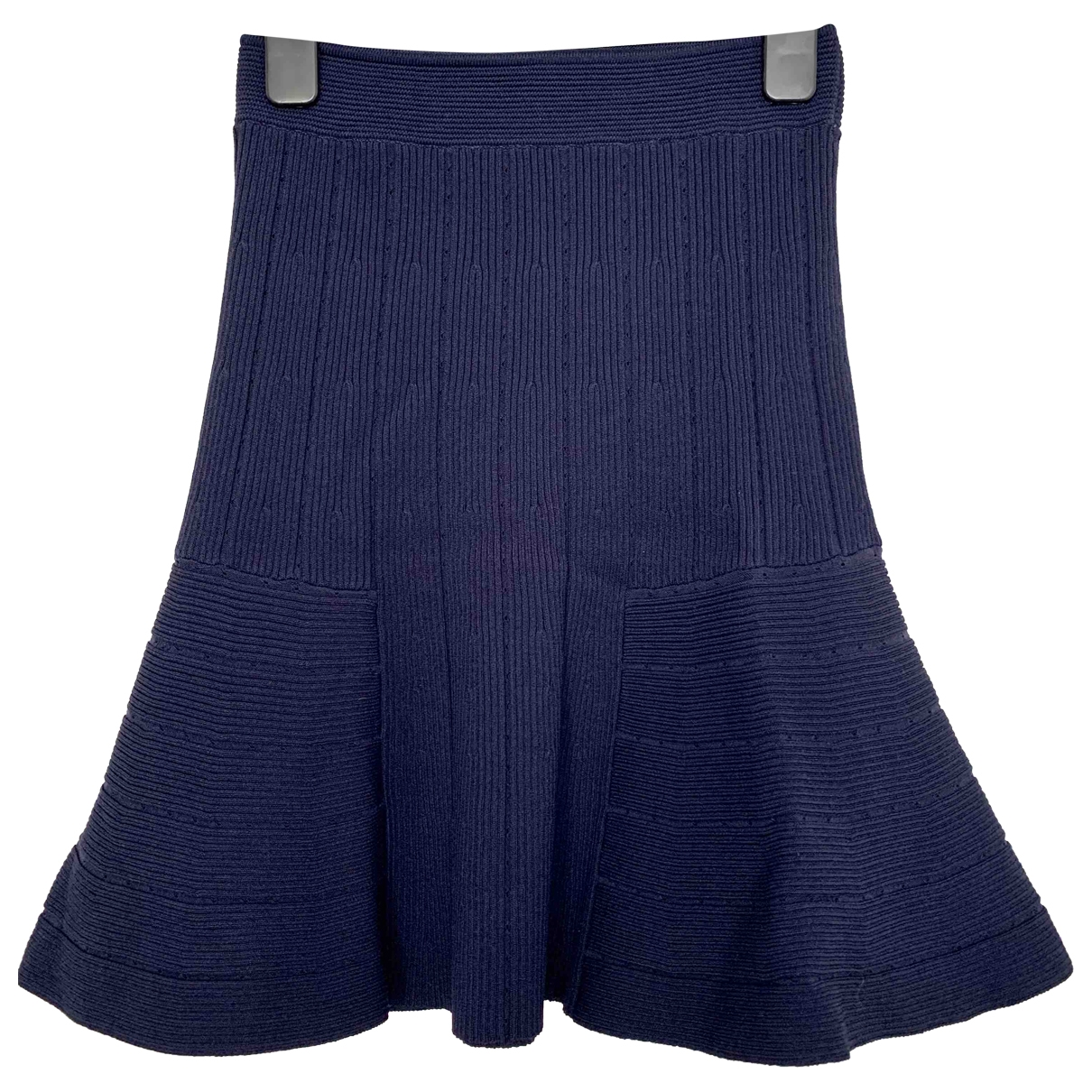 Sandro \N Navy skirt for Women 36 FR