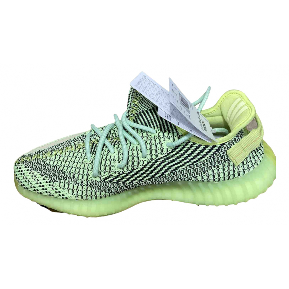 Yeezy X Adidas Boost 350 V2 Sneakers in  Gelb Polyester
