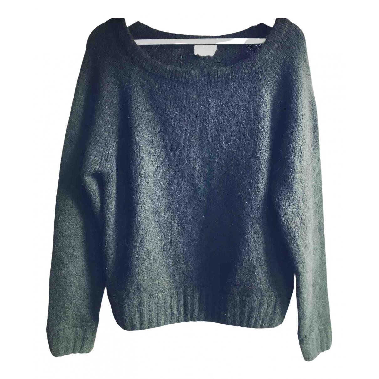 American Vintage \N Pullover in  Schwarz Wolle