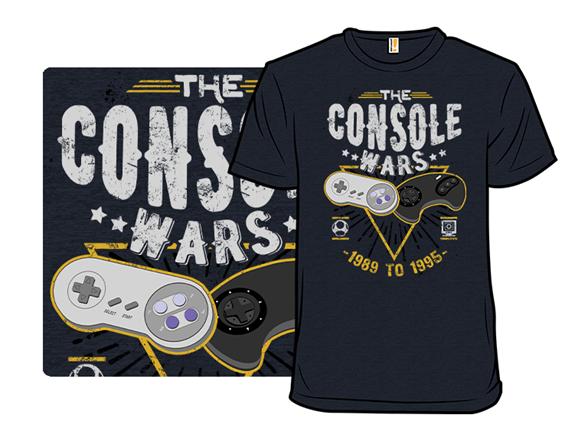 The Console Wars Remix T Shirt