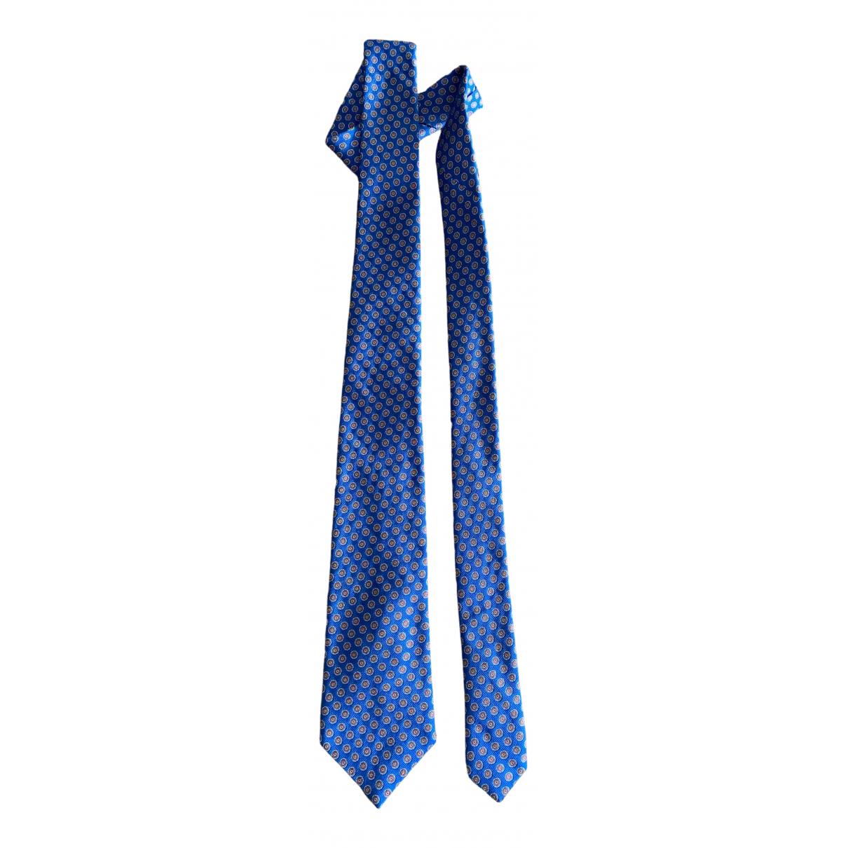 Paul Smith \N Krawatten in  Blau Seide