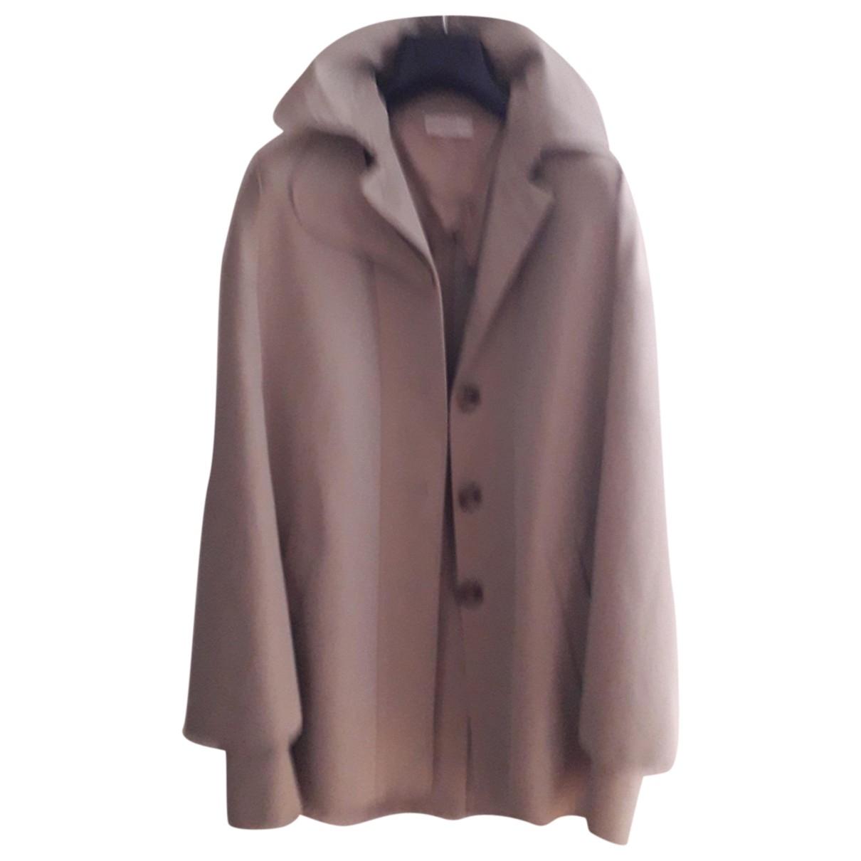 Celine \N Beige Cotton coat for Women 38 FR