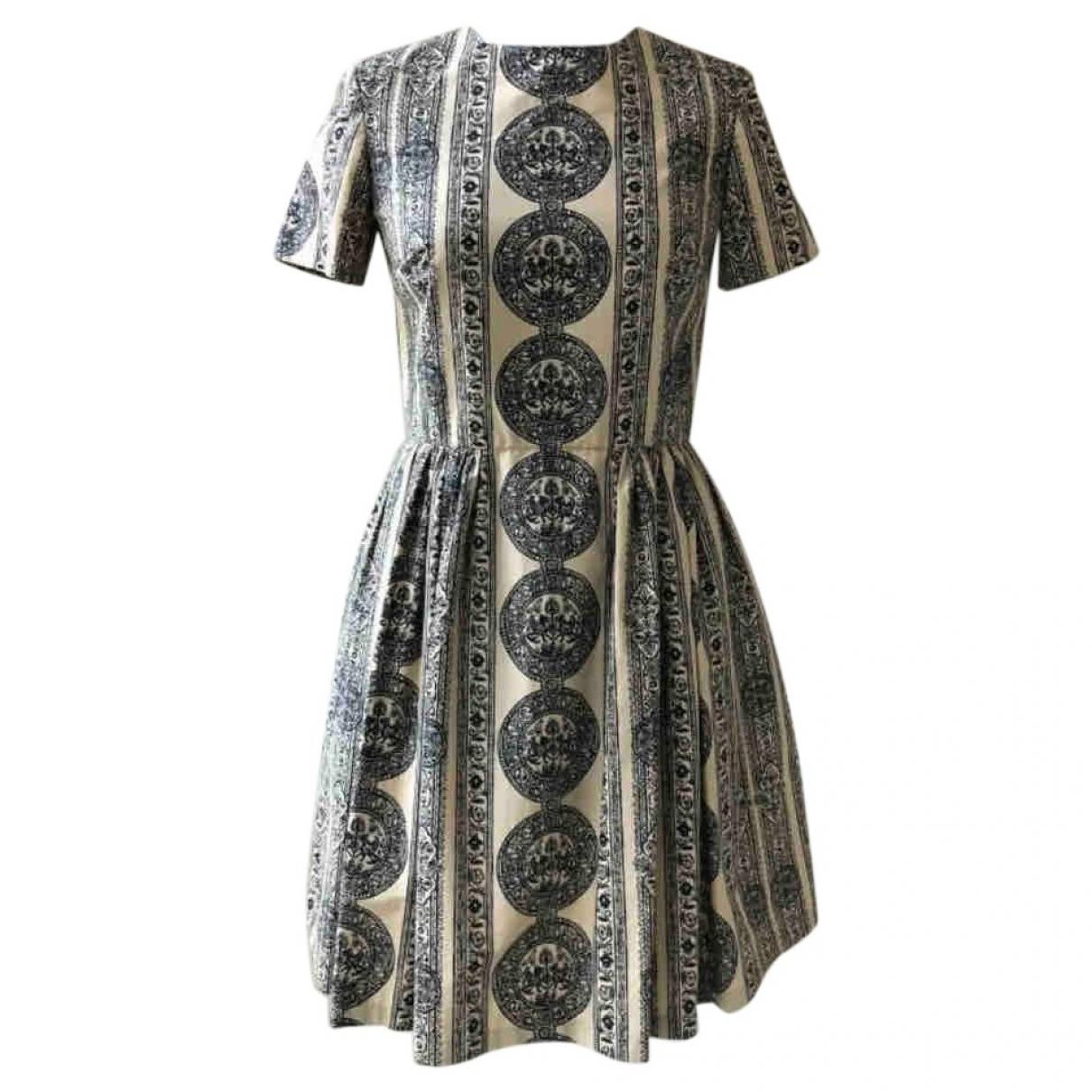 Valentino Garavani \N Beige Cotton dress for Women 40 IT
