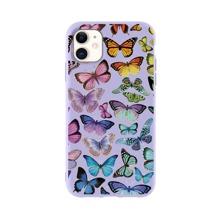 Funda de iphone con estampado de mariposa