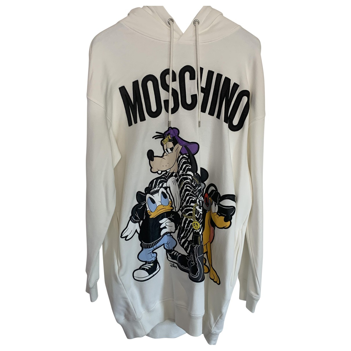 Moschino For H&m \N White Cotton Knitwear for Women M International