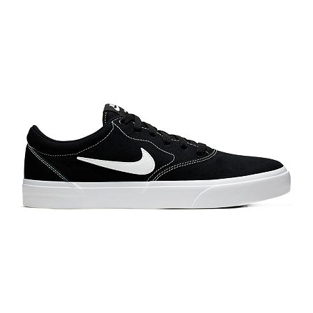 Nike Charge Mens Lace-up Skate Shoes, 14 Medium, Black
