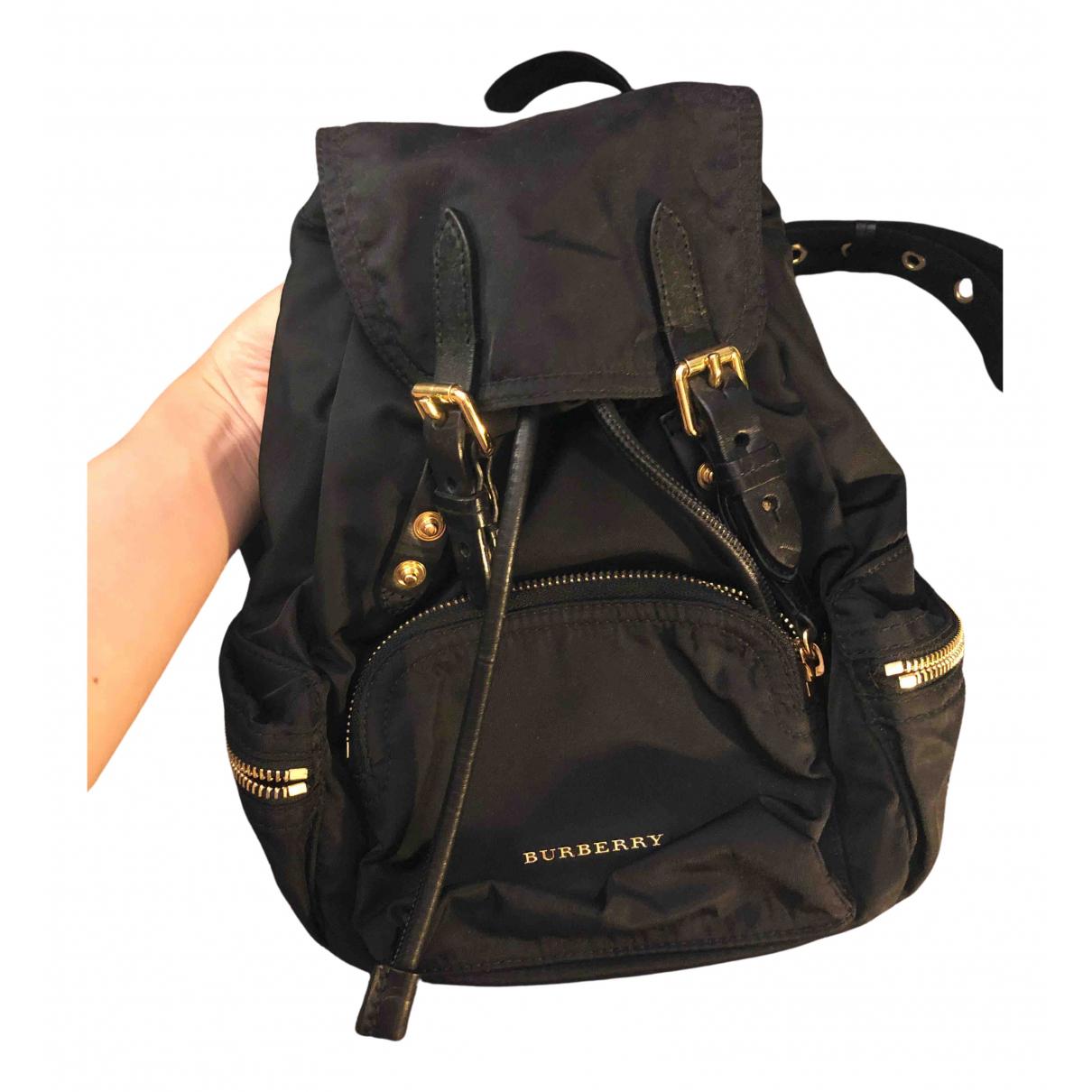 Burberry The Rucksack Black backpack for Women N