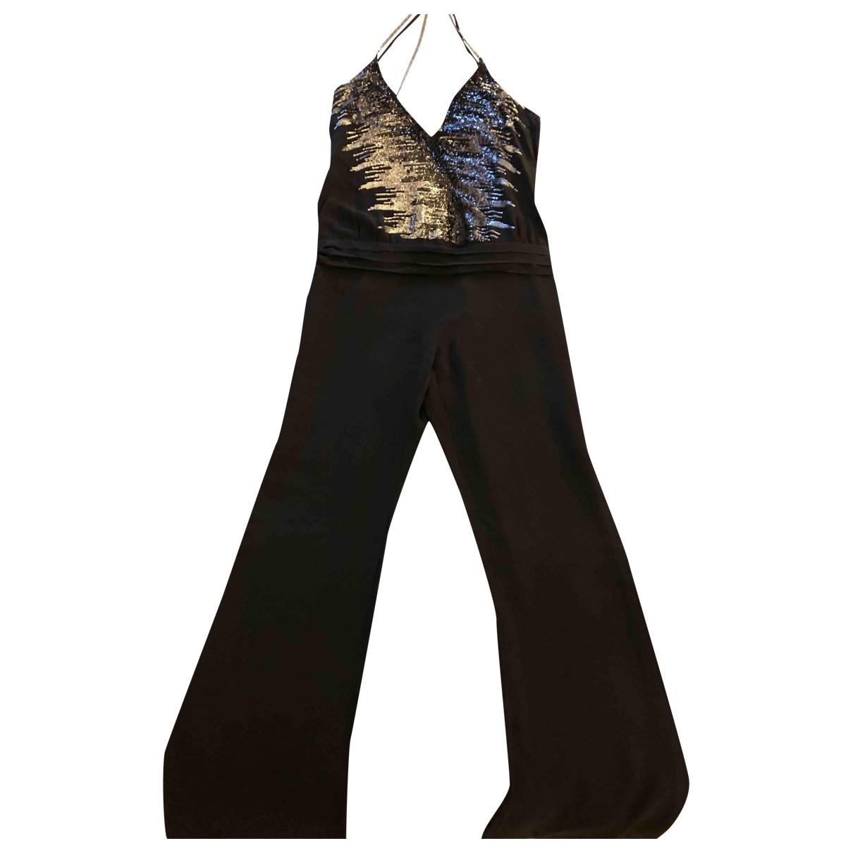 Patrizia Pepe - Combinaison   pour femme en soie - noir