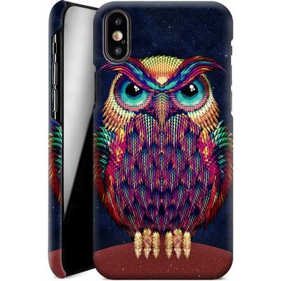 Apple iPhone X Smartphone Huelle - Owl von Ali Gulec