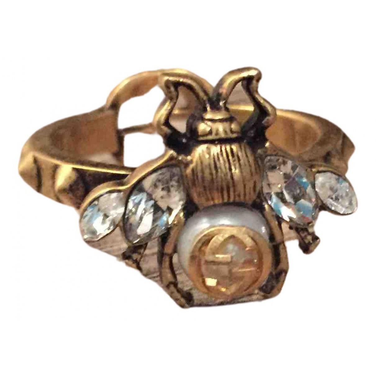 Gucci \N Ring in  Gold Metall