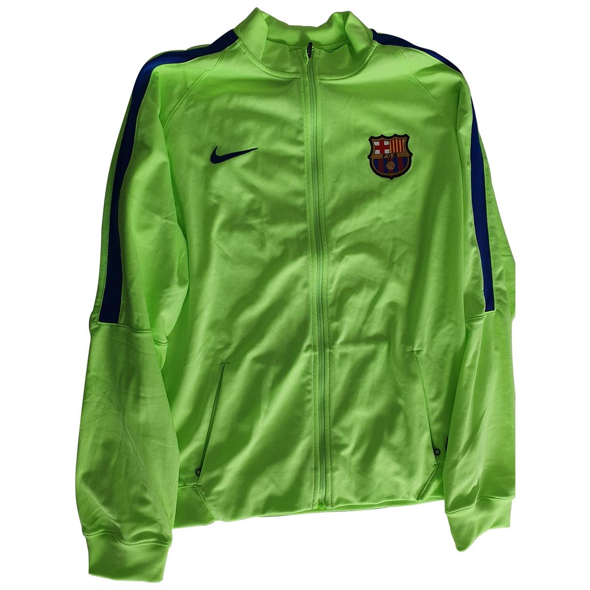 Nike \N Pullover, StrickJacke in  Gruen Synthetik