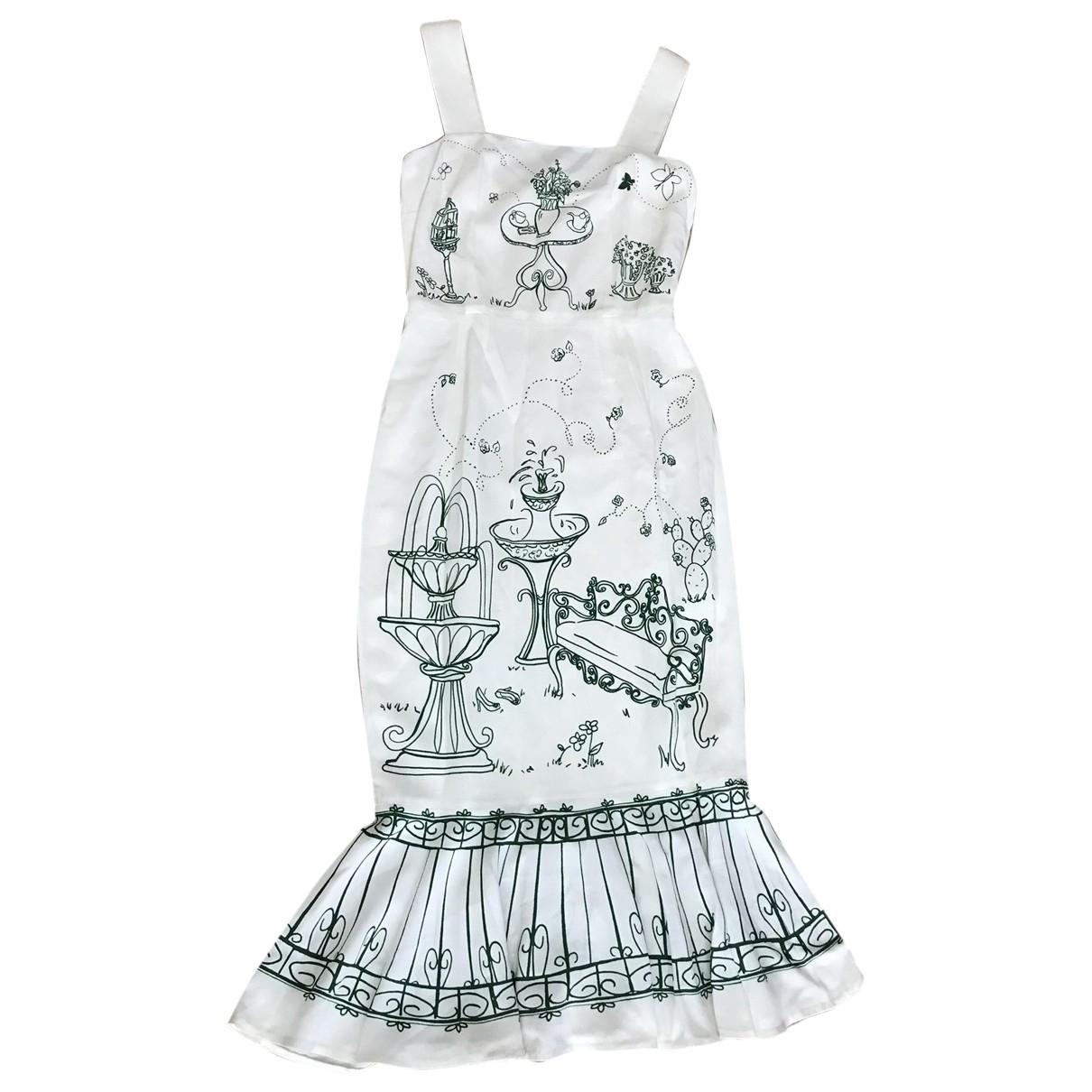 Dolce & Gabbana - Robe   pour femme - blanc