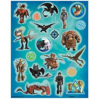 Dragon 4 Sticker Sheets/Favors Pour la fête d'anniversaire